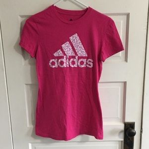 Adidas Tee Pink Women's Small